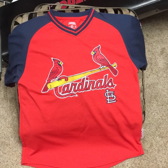 Stitches Athletic Gear Shirts Stitches St Louis Cardinals Jersey